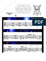 Star Wars Partitura
