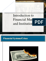 Analysis of Financial Markets - 2-2