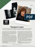 Margaret Lopez - Morgantown Magazine, Spring 2014