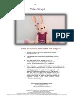 Anatillea Niña Conejo Español