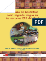 MINEDU Castellano como segunda lengua EIB 2013