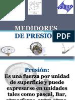 medidores de presion