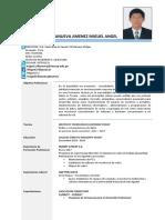 CV Miguel a. Villanueva Tecsup