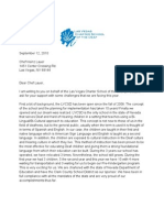 Appeal for Funding Support Letter Draft