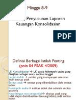 Laporan Keuangan Konsolidasian Sederhana Bab 4