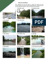 Rios, Lagos y Lagunas de Guatemala