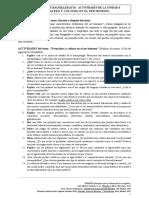 FILOSOFÍA (1º DE BACHILLERATO) - ACTIVIDADES DE LA UNIDAD 6 NATURALEZA Y CULTURA EN EL SER HUMANO