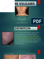 Acne Vulgaris powerpoint