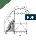 Detalle Estructural Techo Policarbonato-model
