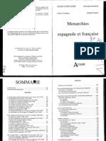 COSANDEY, POUTRIN (2001) Monarchies Espagnole et Française
