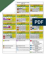Calendario Escolar IES 17 -18
