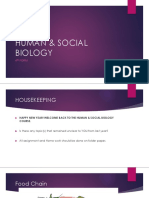 Human & Social Biology 4th Form