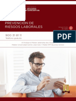PDF Programa Curso Master Online Prevencion Prl Ucjc