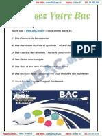 Math - Bac Tech & Science