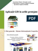 Aplicatii GIS in Ariile Protejate