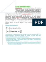 Point by Point Solution of Swing Equation