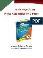 Negocio en AutoPiloto en 3 Pasos