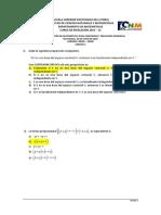 1S-2015 Matemáticas Primera Evaluación 08H30Version1