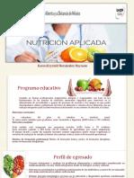 Nutrición aplicada