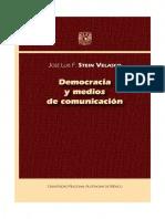 Democracia y Medios de Comunicación - Stein Velasco