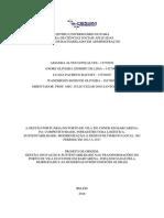 Relatório de Pesquisa Gestão Portuária PVC