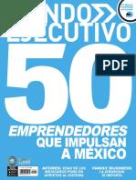 50 Emprendedores que impulsan a México