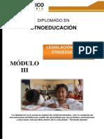 Guía Didáctica 3 Legislcion Para La Etnoeducación