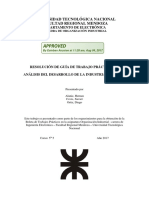Análisis Industria Nacional - TP