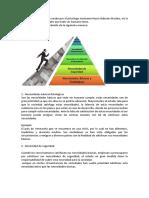 La pirámide de maslow creado por el psicólogo norteamericano Habram Maslow