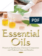 (Chemistry Research and Applications) Peters, Miranda-Essential Oils_ Historical Significance, Chemical Composition, And Medicinal Uses and Benefits-Nova Science Pub Inc (2016)