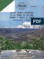 Balance Hidrico Rios Bermejo y Tarija