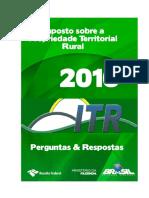 Perguntas e Respostas ITR 2016 v1.1 - 31082016