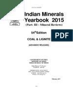 Indian Minerals Yearbook 2015