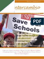 Revista Intercambio Nuevas formas de privatización y mercantilización en educación