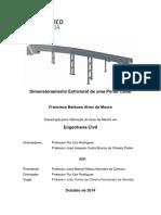 Dimensionamento de Ponte Cais Dissertacao