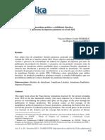 Do Jornalismo Político a Visibilidade Literária - o Panorama Da Imprensa Piauiense No Século XIX