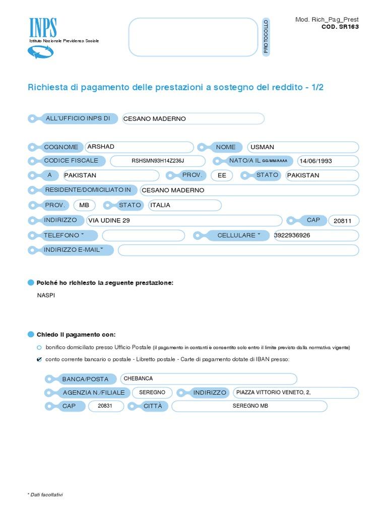 SCARICA SR163 PDF DA