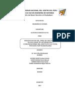 Identificacion Del Área de Gestión de Tecnologías de Información y Comunicaciones Del Instituto Cultural Peruano Norteamericano