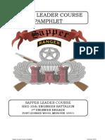 Sapper Pamphlet