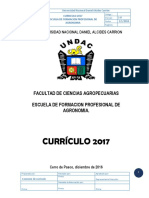P11.- Plan Curricular Agronomia 2017