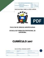 P11.- Plan Curricular Agronomia 2017