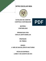 Catálogo de Cuentas Contpaq-i-Contabilidad
