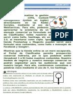 2018 Servicios de Publicación de Contenidos en Socialmedia y Portales de Clasificados
