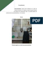 Ensayo Para Leucoantocianidinas Marisol y Yensi