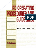 Standard Operating Procedures and Guidelines John Lee Cook Jr.