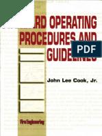 Standard Operating Procedures and Guidelines John Lee Cook Jr.