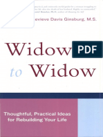 Widow to Widow Thoughtful, Practical Ideas for Rebuilding Your Life Genevieve Davis Ginsburg 240p_0738209961
