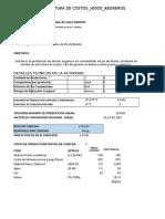 COSTO PRODUCCIÓN ABONO ORGANICO