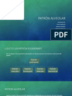 Patrón pulmonar Alveolar