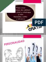 Clase 4.PERSONALIDAD y Diferencias Individuales.desempeño Laboral